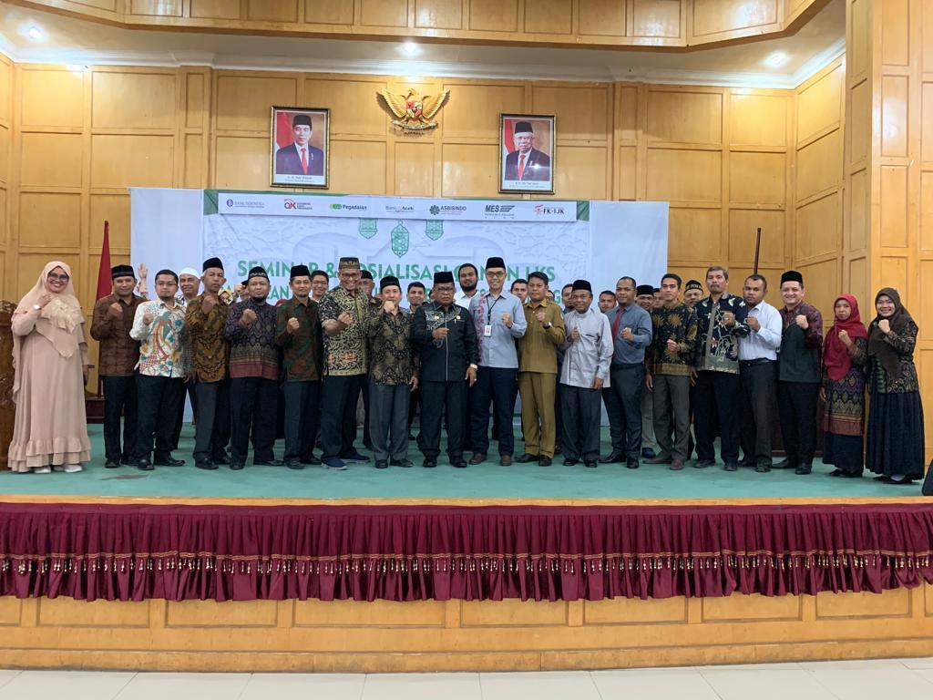 Aminullah Usman Lantik Kepengurusan MES Kota Langsa