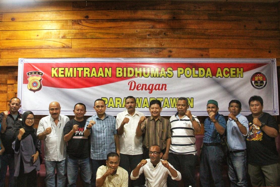 Gelar Kemitraan, Kabid Humas Polda Aceh Ajak Media Perangi Hoax