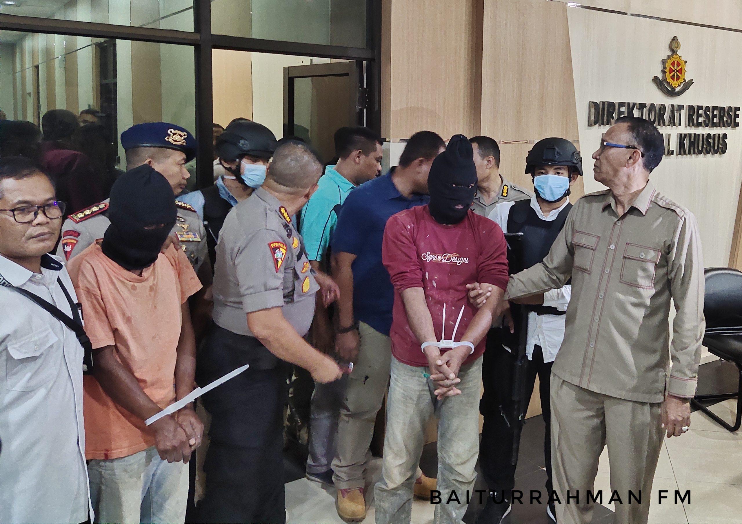 Tim Gabungan Dir Reskrimsus Polda Aceh Amankan Pelaku Video Pengancam Warga Non Aceh