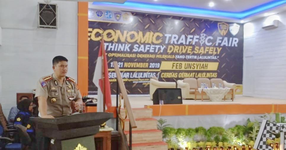 Dirlantas Polda Aceh Buka Lomba Cerdas Cermat di Unsyiah