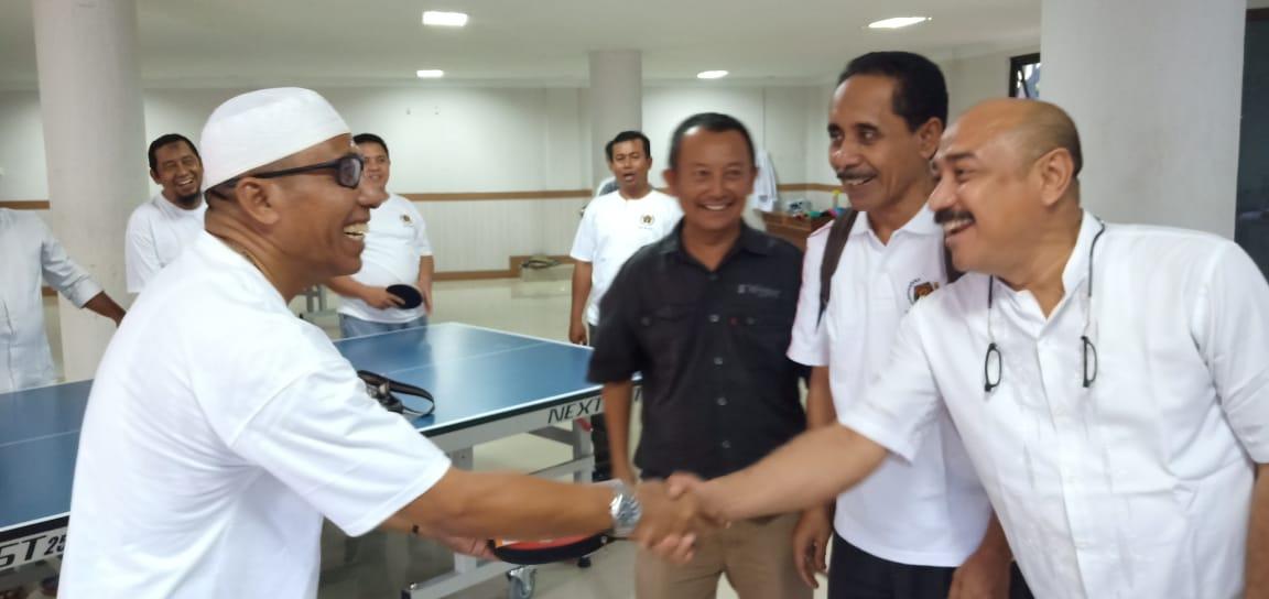 Heru, Fudin dan Ali, Juara Tenis Meja Siwo PWI Aceh