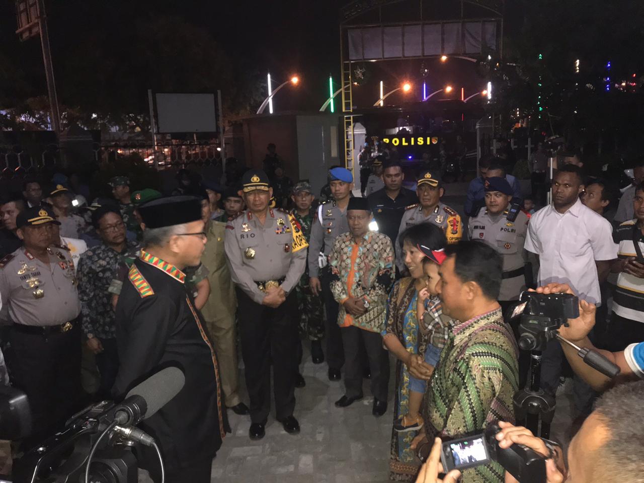 Kapolda dan Forkopimda Pantau Kamtibmas Sambut Malam Natal di Banda Aceh
