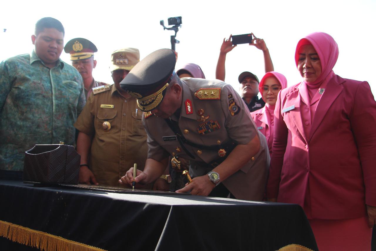 Kapolda Aceh Resmikan Polres Subulussalam