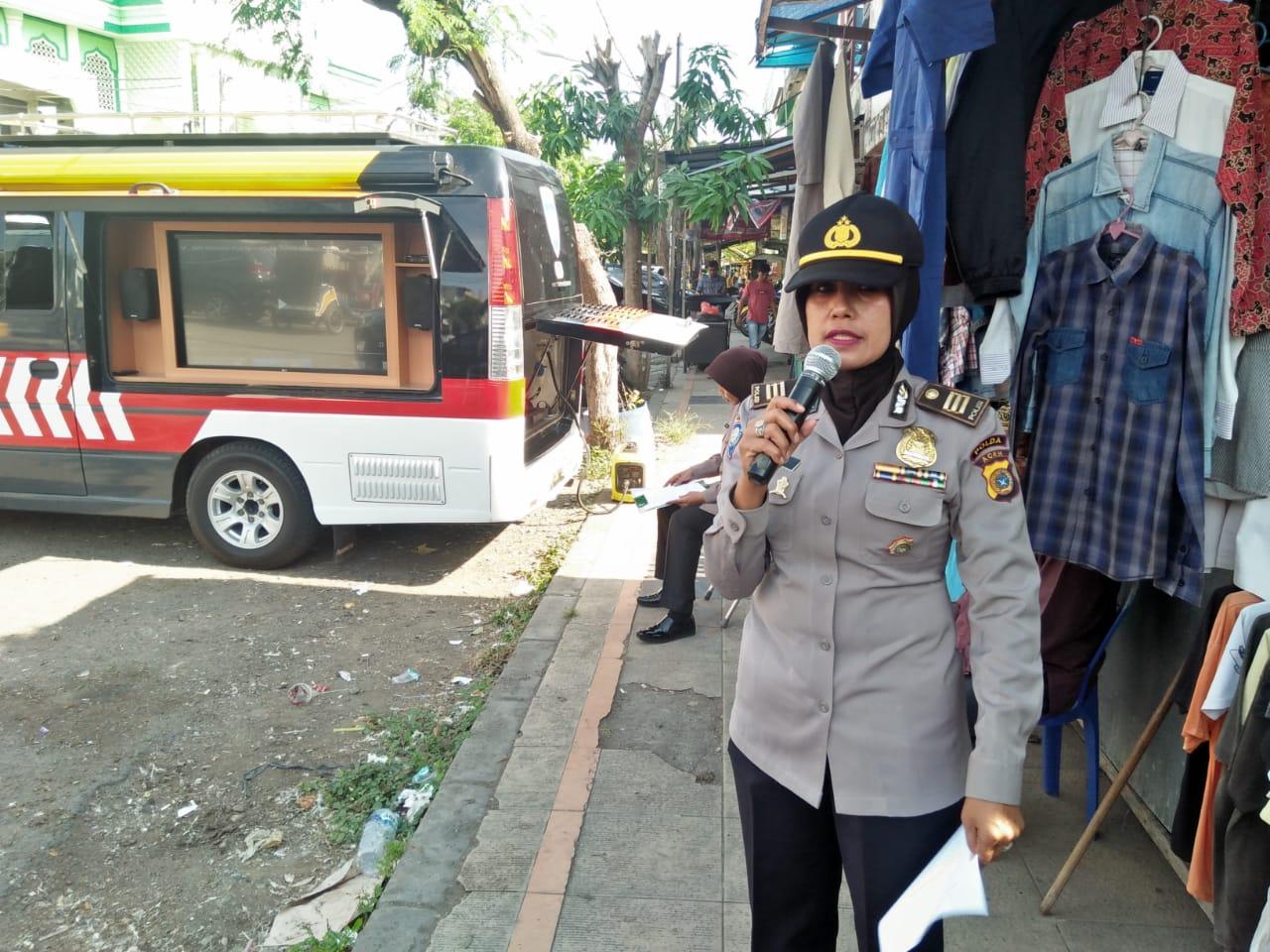 Dirbinmas Polda Aceh Himbau Masyarakat Ikut Partisipasi Cegah Corona