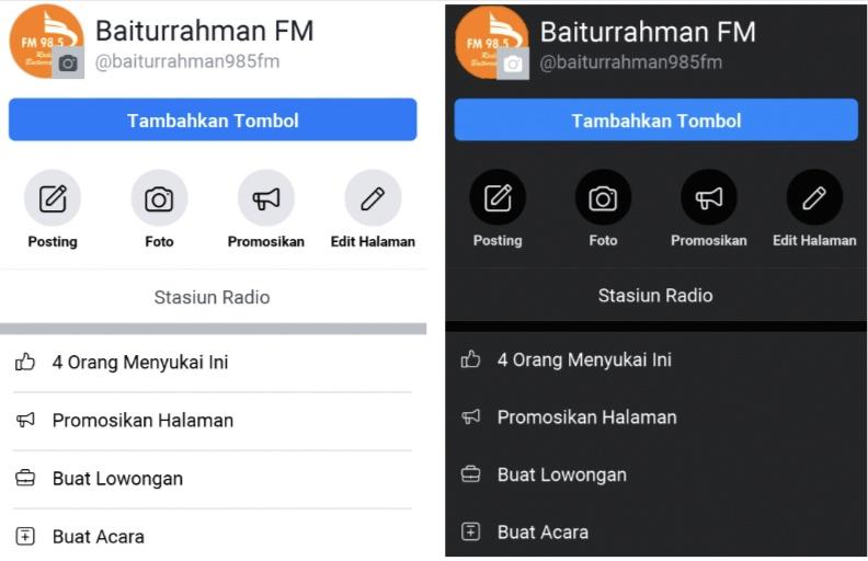 Makin Update! Facebook Kini Juga Punya Dark Mode