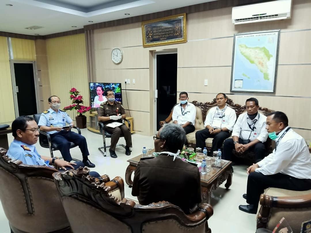 Hadapi Corona, Dirnarkoba Polda Aceh Gandeng Kanwil Kemenkumham