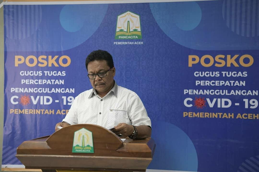 Ini Update Data Covid-19 Terbaru di Aceh