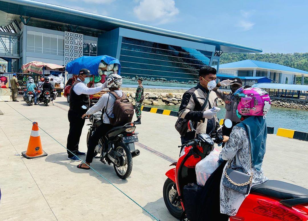 Pemko Larang Warga Keluar Masuk Pulau Sabang