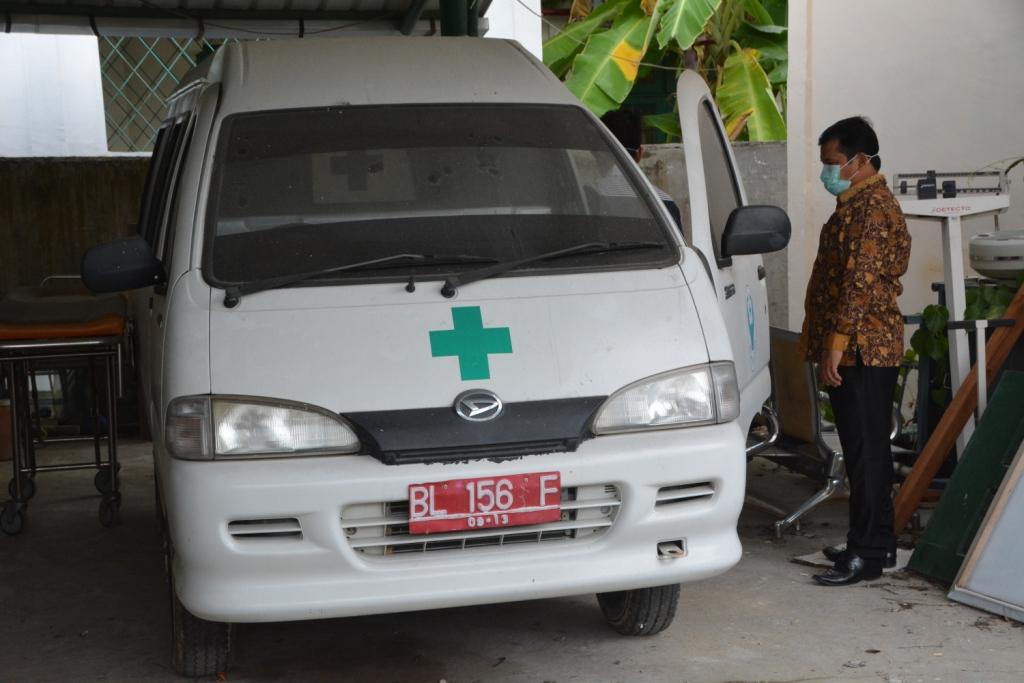 Wali Kota Langsa Tarik 5 Mobil Ambulance Dinas Kesehatan
