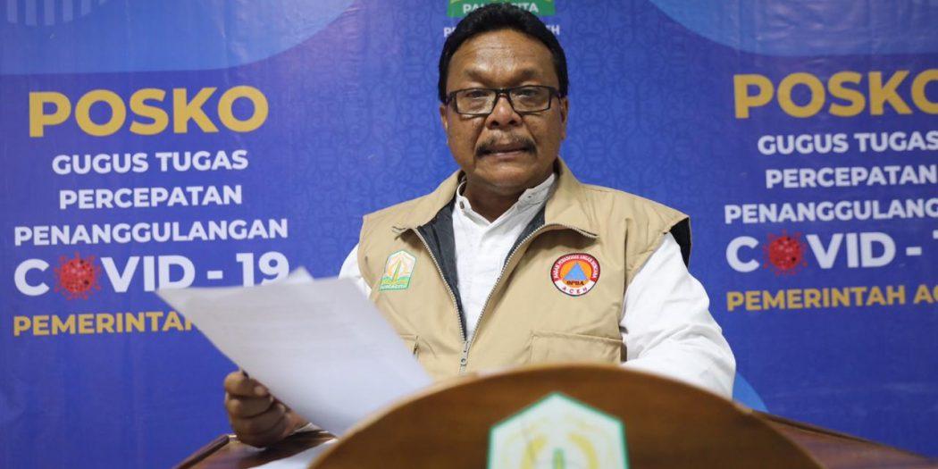 Update Info Covid-19 di Aceh Terbaru (03 April 2020, Pukul 15.00 WIB)