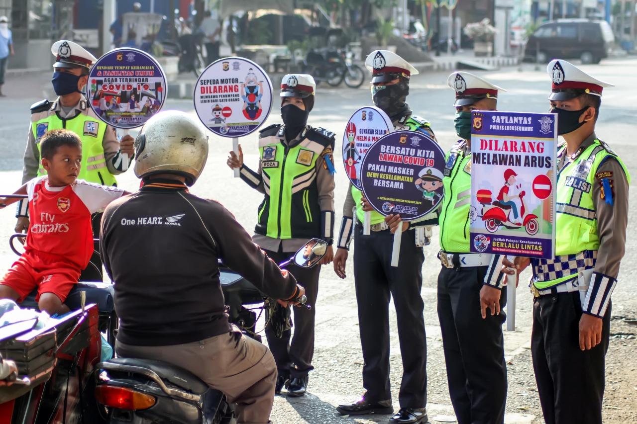 Cegah Corona, Ditlantas Polda Aceh Gelar Operasi Keselamatan 2020