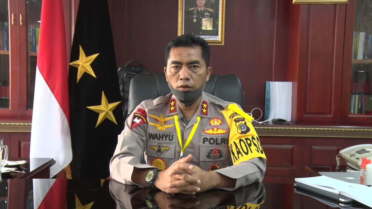 Kapolda Aceh Ajak Masyarakat Jadi Pahlawan Hadapi Corona