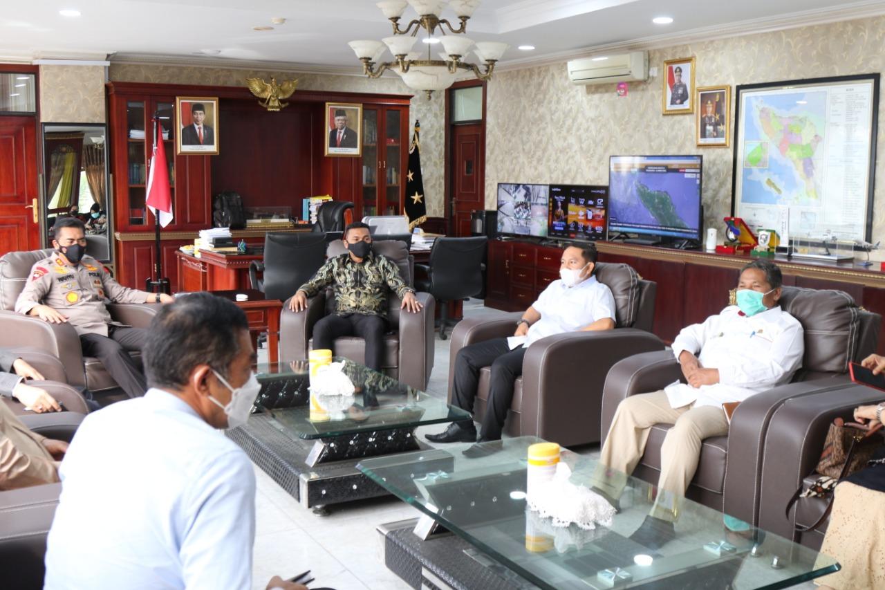 Fraksi Gerindra DPRA Audiensi dengan Kapolda Aceh, Pertanyakan Kasus Pengranatan Rumah Anggota DPRK Aceh Barat