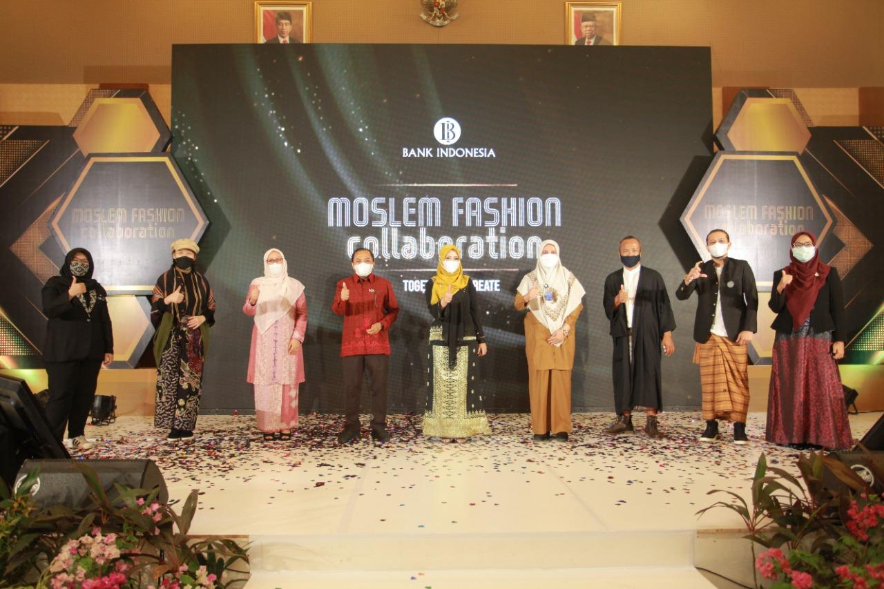 Dekranas Aceh Dukung Bank Indonesia dan Ifc Banda Aceh Kick Off Moslem Fashion Collaboration 2021