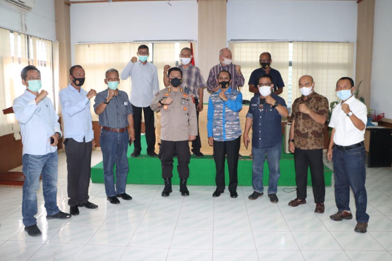 Kabid Humas Polda Aceh Berkunjung Ke PWI Aceh