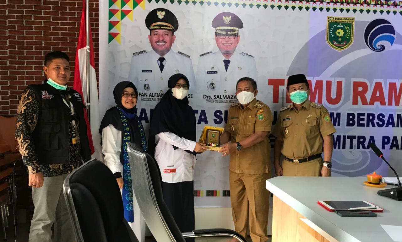 Pemkot Subulussalam Dukung Program Kemanusiaan MRI – ACT Aceh